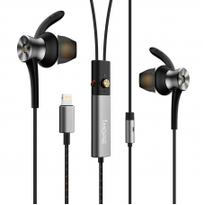 Xiaomi 1More Dual Driver Anc Lightning In-Ear Headphones Space Gray