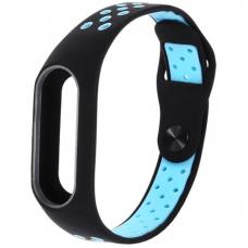Ремешок для Mi Band 3 Nike Black-Blue