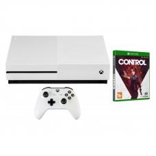 Microsoft XBox One S 1TB White + Control