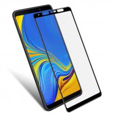 Защитное стекло 3D для Samsung Galaxy A9 Черное (Тех.Упаковка)