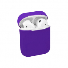 Чехол AirPods 1/2 Silicone Case Ultra Violet