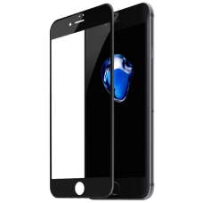 Защитное стекло 3D для iPhone 7/8/SE(2020) Черное (Тех.Упаковка)