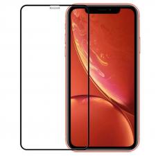 Защитное стекло 3D для iPhone XR/11 Черное (Тех.Упаковка)