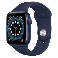 Apple Watch S6 44mm Blue Aluminum Case / Blue Sport Band