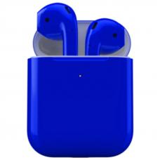 Apple AirPods 2 Синий Глянец (с функцией беспроводной зарядки)