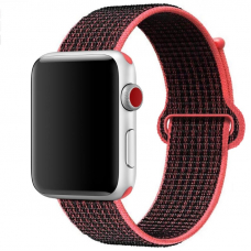 Ремешок для Apple Watch 38/40mm Loop Red Black
