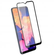 Защитное стекло 3D для Samsung Galaxy A10 Черное (Тех.Упаковка)