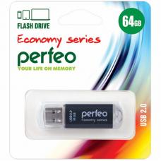 USB Накопитель Perfeo E01 64GB Black