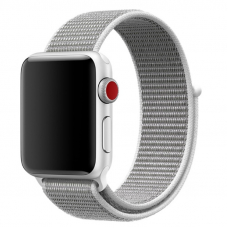 Ремешок для Apple Watch 42/44mm Loop White Gray