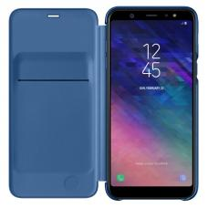Чехол Samsung Galaxy A6 Plus Wallet Cover Blue