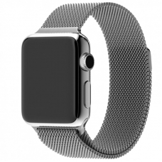 Ремешок для Apple Watch 42/44mm Milanese Loop Silver