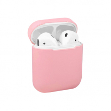 Чехол AirPods 1/2 Silicone Case Pink
