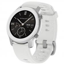 Xiaomi Amazfit GTR 42mm Moonlight White / White Silicone Strap спортивные часы