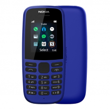 Nokia 105 Single Sim Blue