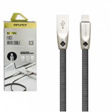 Кабель USB - Lighting / Awei CL-95 / 1M / Черный