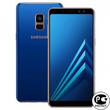 Samsung Galaxy A8 Plus (2018) SM-A730F Blue Идеальное Б/У