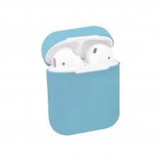 Чехол AirPods 1/2 Silicone Case Sky Blue