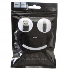 Кабель USB - Lighting / HOCO X13 / 1M / Черный