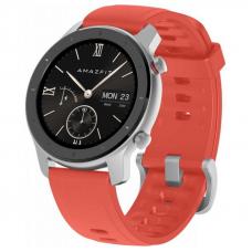 Xiaomi Amazfit GTR 42mm Coral Red / Red Silicone Strap спортивные часы