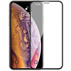 Защитное стекло 3D для iPhone XS Max/11 Pro Max Черное (Тех.Упаковка)