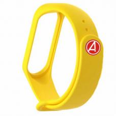 Ремешок для Mi Band 4 Avengers Yellow