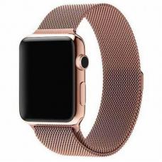 Ремешок для Apple Watch 42/44mm Milanese Loop Bronze Gold