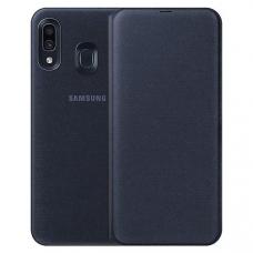 Чехол Samsung Galaxy A30 Wallet Cover Black