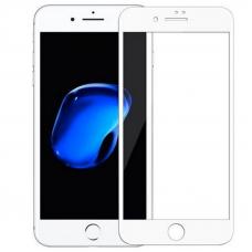 Защитное стекло 3D для iPhone 7/8 Plus Белое (Тех.Упаковка)