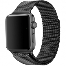 Ремешок для Apple Watch 38/40mm Milanese Loop Black