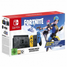 Nintendo Switch 32GB Yellow/Blue (особое издание Fortnite)