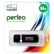 USB Накопитель Perfeo C08 64GB Black