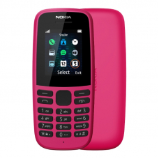 Nokia 105 Single Sim Pink