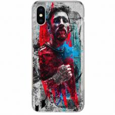 Чехол-накладка iPhone 7/8 Plus Galaxy Силикон Messi