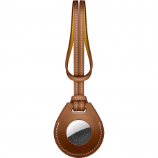 Подвеска AirTag Hermès для сумки Fauve