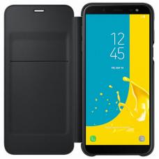 Чехол Samsung Galaxy J6 Wallet Cover Black