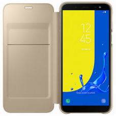 Чехол Samsung Galaxy J6 Wallet Cover Gold