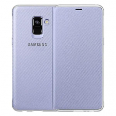 Чехол Samsung Galaxy A8 Plus Neon Flip Cover Gray