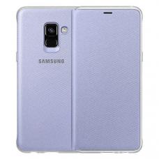 Чехол Samsung Galaxy A8 Plus Neon Flip Cover Gray