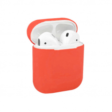Чехол AirPods 1/2 Silicone Case Ultra Pink