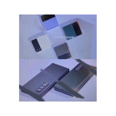 Новые Samsung Galaxy Z Fold3 и Samsung Galaxy Z Flip3