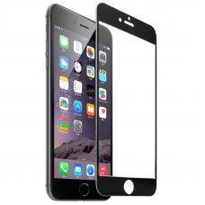 Защитное стекло 3D для iPhone 6/6S Черное (Тех.Упаковка)