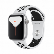 Apple Watch S5 NIKE 40mm Silver Aluminum / Pure Platinum Sport Band